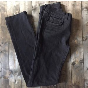 J Brand Skinny Black Denim Jeans 28